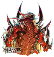 Red Dragon Omega Mega Zexor Rex by FontesMakua