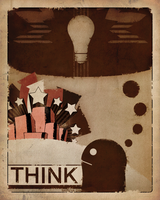 Think by Toothpick-Guy