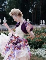Flower dress by antiquecameo