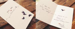 Holiday card project by TheBrinkDesign