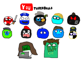 Youtuber-balls by Disney08