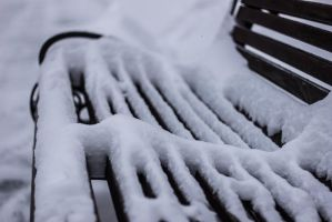 Frosty bench by LifeFun
