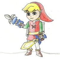 Between Worlds Attire, Wind Waker Style. by BLTspirit
