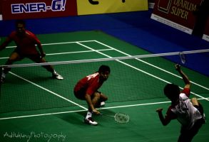 Indonesia vs South Korea by adiluhung