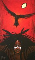 Crow Warrior by AaronPaquette
