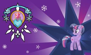 Twilight Sparkle Crystal Wall by Evilarticfox