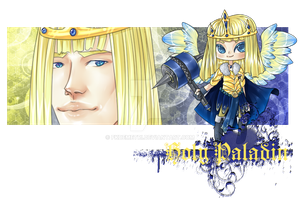 [CLOSED] Paladin Prince Chibi - Set Price by DemeDesigns