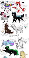 -10 Points- Adoptables OPEN by SerenadingLove