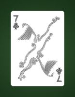 7 Of Clubs aka 7 Of Air by LineDetail
