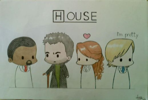 .:House MD:. by Lenore-m0rt