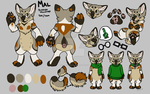 Chibi Deluxe Reference::Mal by LittleBoBleat