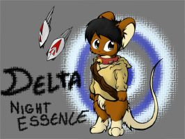 OC - Delta - Night Essence by Delta-YD