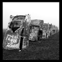 Cadillac Ranch by fallnangeltears