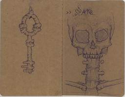 the skull by egeres
