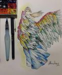 Colored Angel by Maryluworld