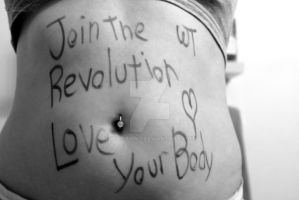 Join the Revolution - Love your Body by WiccanWT