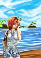 Kairi - Dearly Beloved by charlestanart