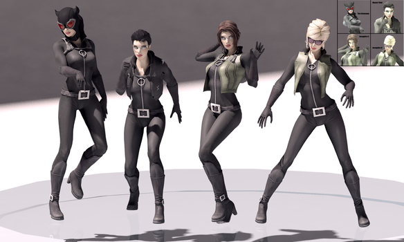 Selina Kyle/Catwoman Mod for XPS by arpith20