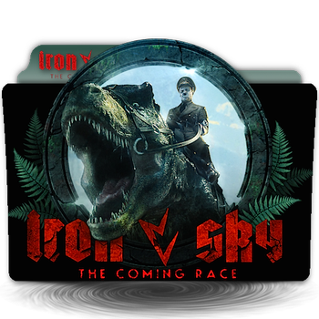 Iron Sky 2 The Coming Race v2 movie folder icon by zenoasis