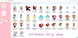 Pack de iconos para la PC by TutosLadyPink
