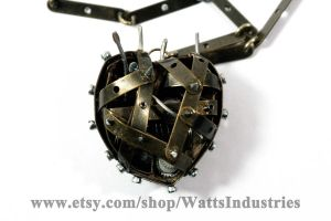 Caged heart front view by Watts-Industries