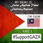 #SupportGaza by FantineAquane