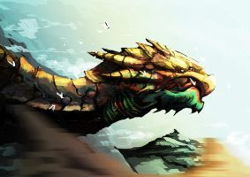dragonhead by unded