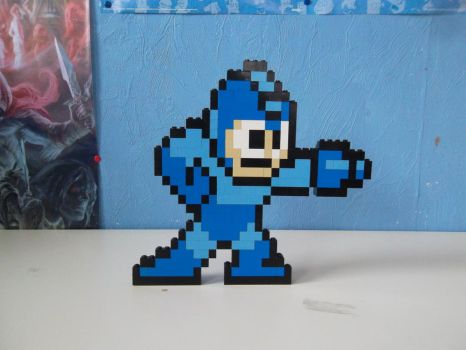 LEGO  Megaman by ProfMadness