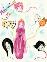 princess bubblegum by blackflameknight