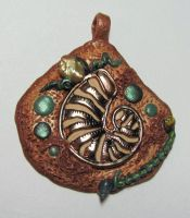 Shell polymer pendant by wildhorse63