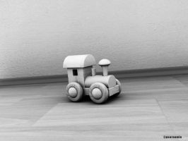 Toy Train by peornomin