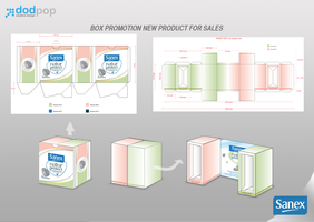 Box promotion for Sanex sales by dodpop