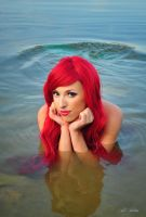 Ariel little mermaid cosplay by Yana-Mio