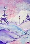 Winter landscape by Karitaart