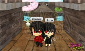 .HACK chat Shadow n Kira by blondeeshadow
