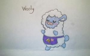 Wooly the waiter sheep (FNAF oc) by LobsterPolice