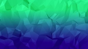 Blue-Green Low Poly Wallpaper by nordicstew