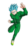 SSGSS Gohan (Super Saiyan Blue) by EliteSaiyanWarrior