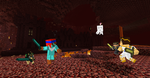fight for the nether by cynderplayer