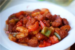 Homemade Sweet n Sour Chicken by emilythestranger