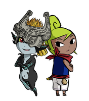 Midna+Tetra by Icy-Snowflakes