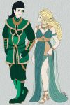 CE- Loki and Sigyn by keokotheshadowfang
