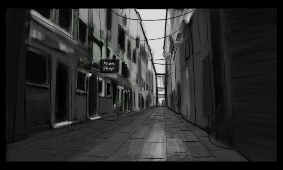 Corners and alleyways. by pitoli