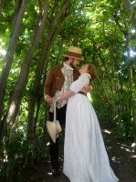 Romance in the greenery by LadyCafElfenlake