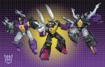 G-1 Insecticons groupshot by Dan-the-artguy