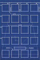 iPhone 4S Blueprint Wallpaper Retina 640x960 by MrDUDE42