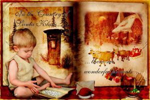 In the country of Santa Klaus by Leina1
