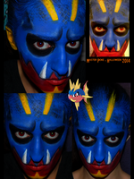 [MAKEUP] Carvanha by The-Blue-Oddball