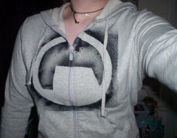 My Black Mesa Hoodie by SummerCardin