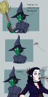 wicked witch- HP by LamechO